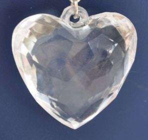 Akrylové srdce 30 mm