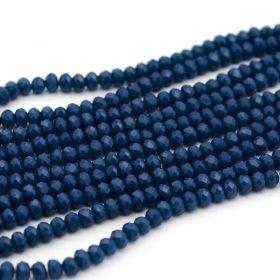 Slavík 4x3 mm, 140 ks, plnobarevná tmavě modrá