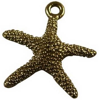 Přívěsek mořská hvězda 20 ks