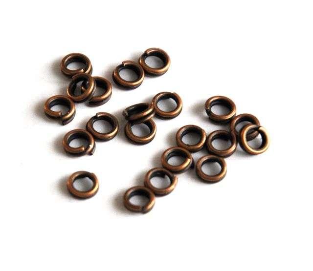 Dvojitý kroužek 4 mm 100 ks