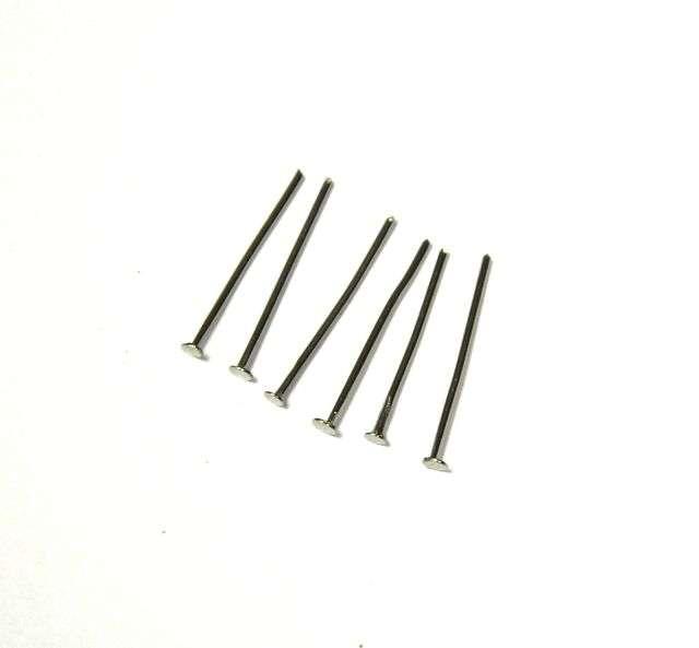 Ketlovací nýt 20 mm, 100 ks, platinový