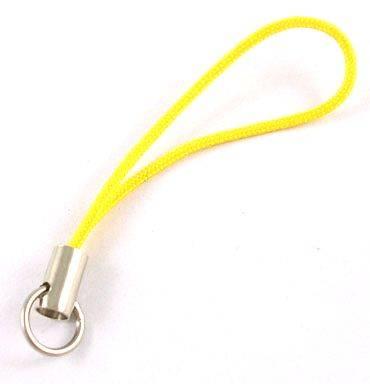 Závěs na mobil s kroužkem 20 ks, žlutý