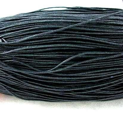 Voskovaná šňůra 0,7 mm,1 m