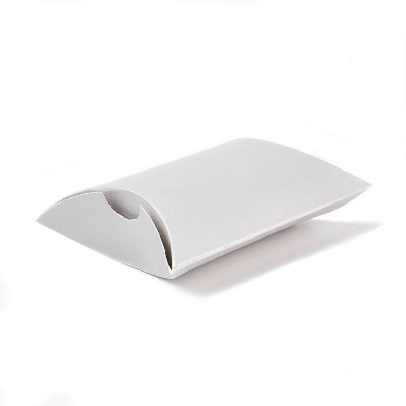 Papírová krabička 9x6,5 cm, stříbrošedá