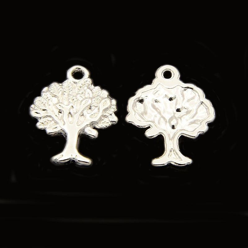 Strom života 22 mm, 20 ks, stříbrná barva