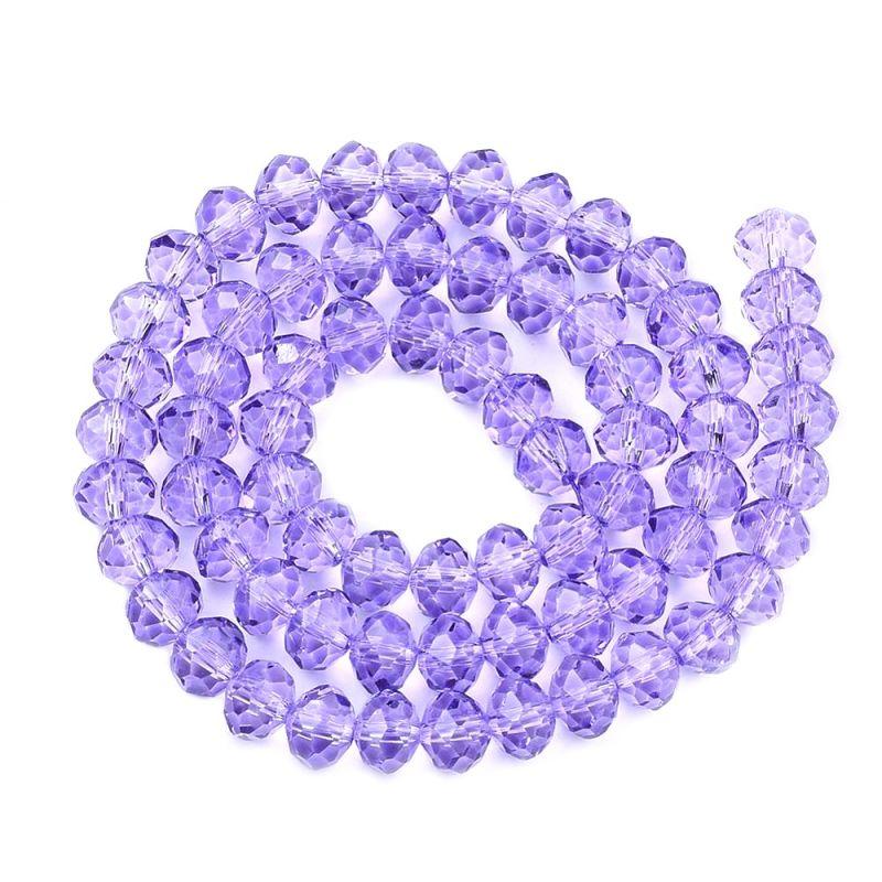 Slavík 4x3 mm, 140 ks, lila fialová