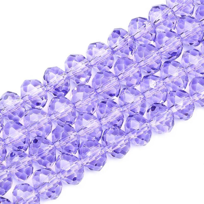 Slavík 3x2 mm, 138 ks, lila fialová