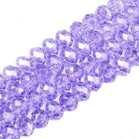 Slavík 3x2 mm, 141 ks, lila fialová s lustrovým pokovem