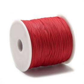 Polyesterová šňůra 0,8 mm, 1 metr, červená