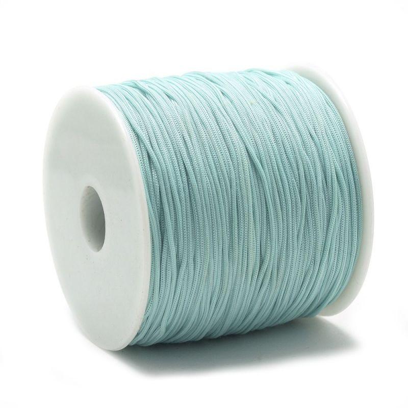 Polyesterová šňůra 0,8 mm, 1 metr, mátová