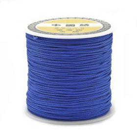 Polyesterová šňůra 0,8 mm, 1 metr, modrá