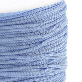 Polyesterová šňůra 0,8 mm, 1 metr, světle modrá