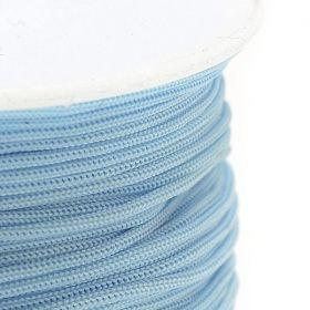Polyesterová šňůra 0,8 mm, 1 metr, světle tyrkysová