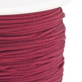 Polyesterová šňůra 0,8 mm, 1 metr, vínová
