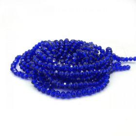 Slavík 6x4 mm, 94 ks, tmavě královská modrá