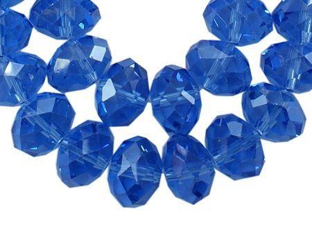 Slavík 6x4 mm, 98 ks, královská modrá