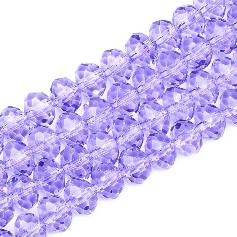 Slavík 8x6 mm, 69 ks, lila fialová
