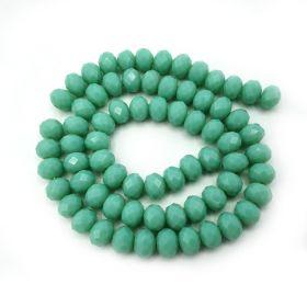 Slavík 8x6 mm, 70 ks, plnobarevná světle zelená