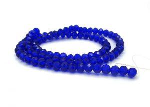 Slavík 8x5 mm, 70 ks, tmavě královská modrá