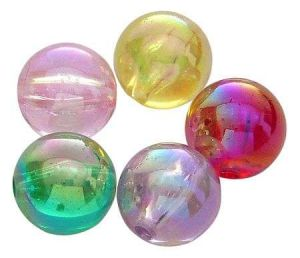 Akrylové korálky 6 mm, 50 ks, mix. barev