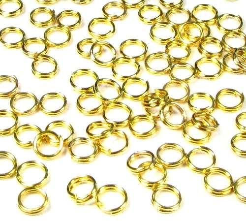 Dvojitý kroužek 5 mm 100 ks