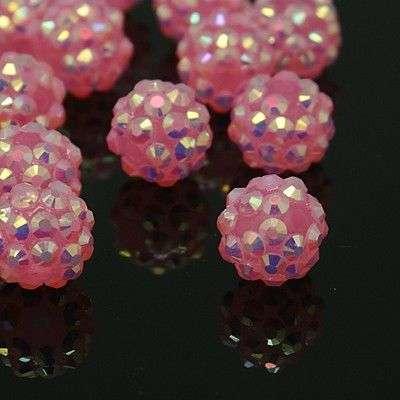 Šatonová kulička 12 mm - růžová