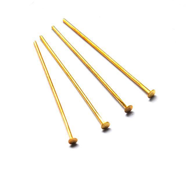 Ketlovací nýt 40 mm, 500 ks, zlatá