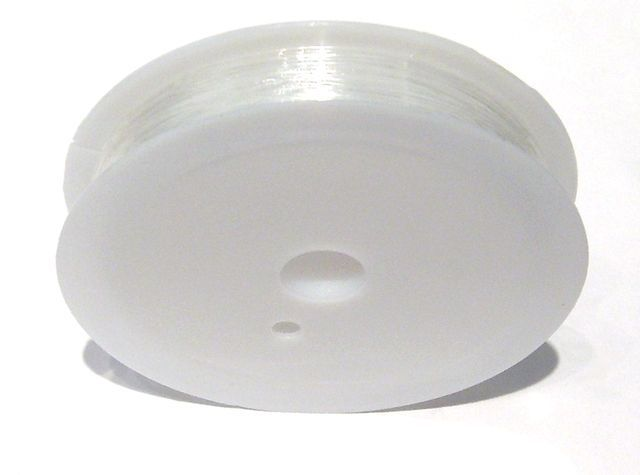 Pruženka 0,7 mm/7 m, čirá