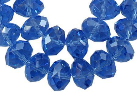 Slavík 8x6 mm, 72 ks, modrá