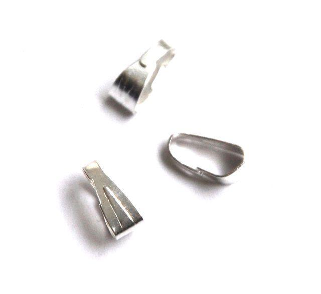 Šlupna jednoduchá 6 mm, 10 ks, stříbrná