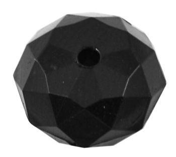 Akrylový slavík 10x6 mm, 50 ks, černá