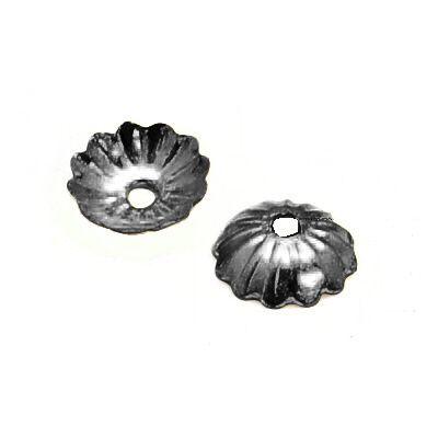 Kaplík 5 mm, 100 ks, černá