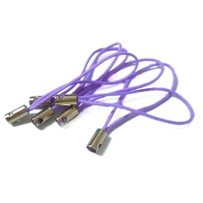 Závěs na mobil bez kroužku 20 ks, fialový