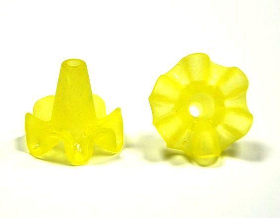 Zvonek 18x20 mm, žlutá