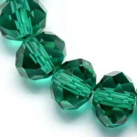 Slavík 6x4 mm,zelená,100 ks