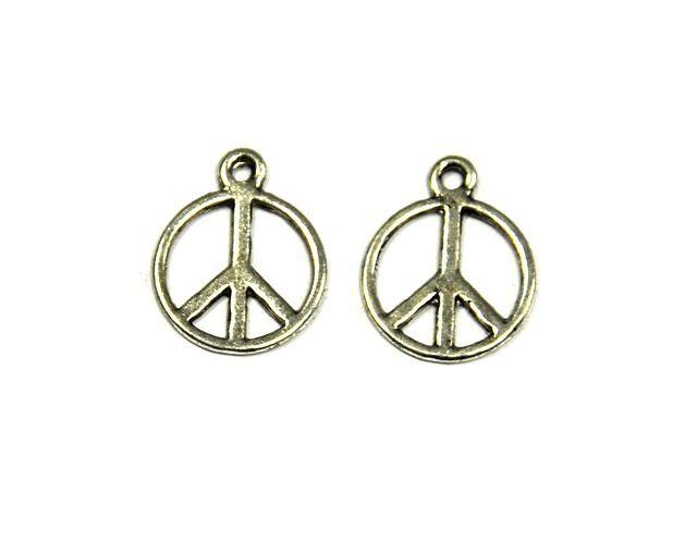 Symbol míru 14 mm, starostříbro