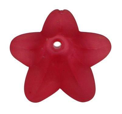 Zvonek velký 18x12mm, 2 ks, červený