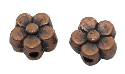 Korálek kvítek 7,5 mm 10 ks