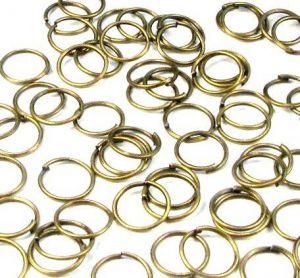 Spojovací kroužek 8 mm 100 ks