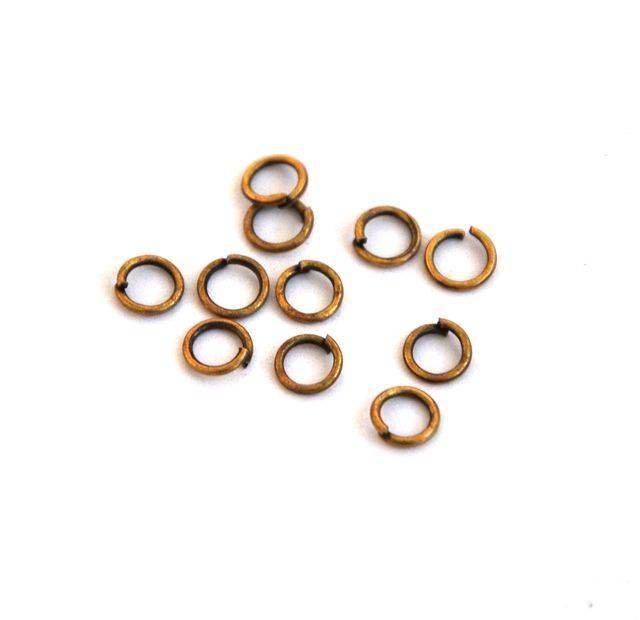 Spojovací kroužek 5 mm 100 ks