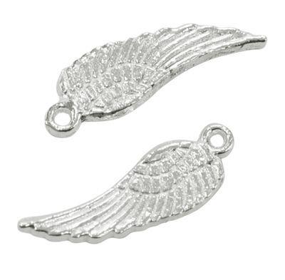 Přívěsek křídlo malé 17 mm, stříbro