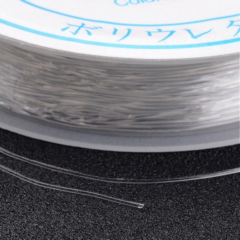 Pruženka 0,5 mm/10 m, čirá