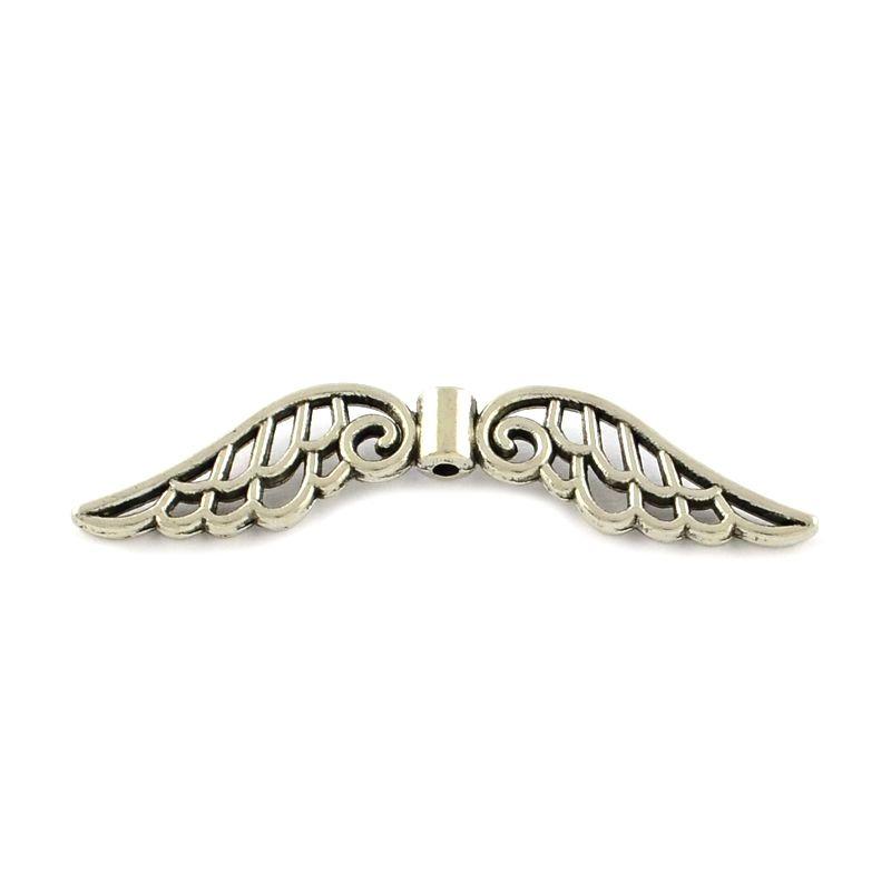 Velká andělská křídla 51x14x4, 20 ks, starostříbro