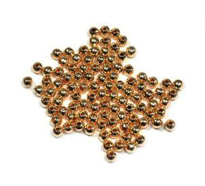 Korálek 4 mm, 100 ks, růžové zlato