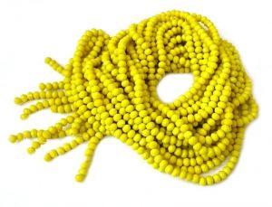 Slavík 4x3 mm, 150 ks, žlutá