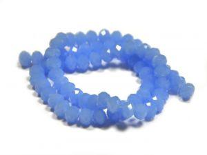 Slavík 6x4 mm, 92 ks, ledová modrá