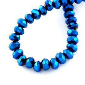 Slavík 3x2 mm, 200 ks, tmavě modrý pokov