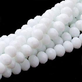 Slavík 6x4 mm, 89 ks, plnobarevná bílá