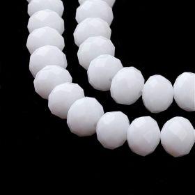 Slavík 8x6 mm, 72 ks, plnobarevná bílá