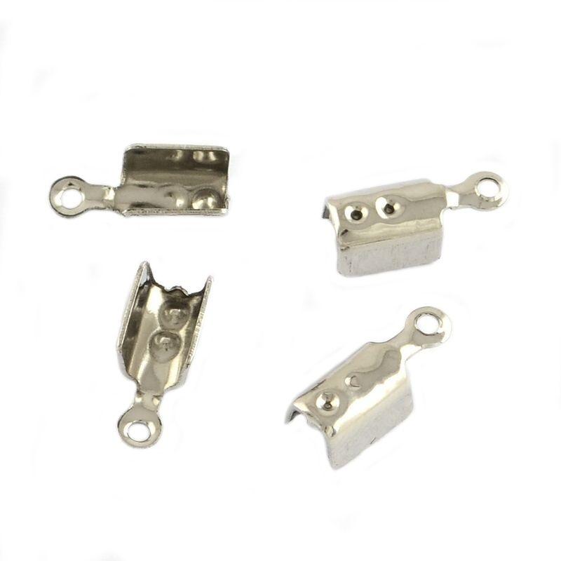 Koncovka z chirurgické oceli 10,5x4,5x4 mm, 20 ks